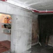 ehemalige Garage bei der Erstbesichtigung