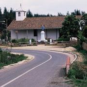Iglesia de Ciruelos a 13Km. de Pichilemu.