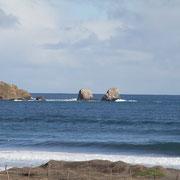 Punta de Lobos a 6 Km. de Pichilemu.