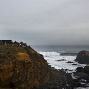 Punta de Lobos a 6 Km. al sur de Pichilemu