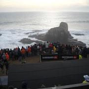 Evento de Surf en Punta de Lobos.