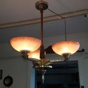 ArtDeco Leuchter, restauriert,  um 1920,   -   480,00 €