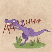 Dino hat Pech