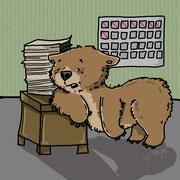 Die Motivation fehlt dem Bären