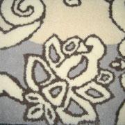 Tapis de laine tufté