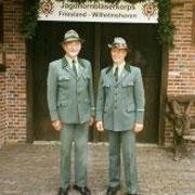 Claus Mahnken & Hans-Heinrich Wilken (1. Vorsitzender)