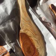 Paddle 4 mit Griff-Loch, Ast, Rissen