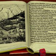 Beispielseite aus dem Buch (Text noch nicht perfekt eingepasst)