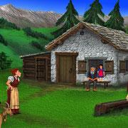 Date lässt Heidi beim Alpöhi