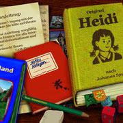 Auswahlbildschirm: Geschichte, Spiele, Infos usw.