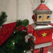 サンタロボットオルゴール  ¥10,800-