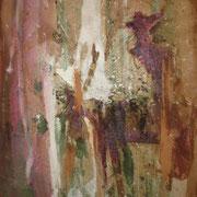 Sancho Panza - Mischtechnik auf Karton; 24,5 cm x 30 cm Sancho; Panza reitet auf seinem Esel in der gleißenden Sonne. Der schwere Packsack zerrt an seiner Schulter ... es ist anstrengend einem Helden zu folgen! 50 €