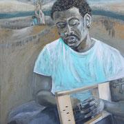 Joseph, Öl auf Leinwand, 110 cm x 70 cm, 2015