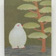 「はつしも の ひ」2017/キャンバス、油絵具/F20