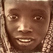 Portrait d'une jeune malienne, Debecouroumba, 2008