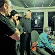 BORN Band Basel im Studio