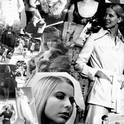 70-iger Anfänge als Model