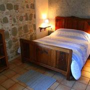 La chambre bleue pour un couple