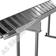 Material Auflagebahn für Rohre, Tragkraft 250 kg/meter