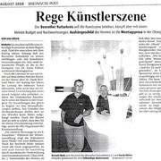 Rheinische Post vom 27. August 2004