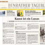 Rheinische Post vom 04. September 2004