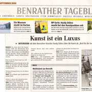 Rheinische Post vom 04. September 2004