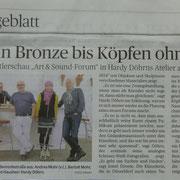 Rheinische Post am 30. Oktober 2014