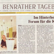 Benrather Tageblatt vom 08. Juli 2004