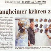 Rheinische Post am 11. Mai 2006