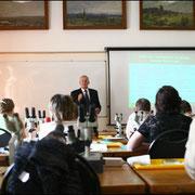 Курсы биотестирования, лето 2008 г. Филенко О.Ф. читает лекцию