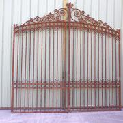 portail ancien fer forgé (n° 6)    350L X 270/350HT