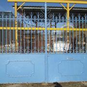 Portail ancien fer forgé (n° 29)    350L X 219HT
