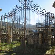 portail ancien fer forgé n° 2   VENDU