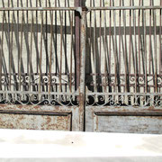 Portail fer forgé (n° 26)     325L x 195HT