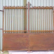 portail ancien fer forgé n° 4