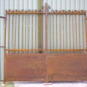 portail ancien fer forgé (n° 4)