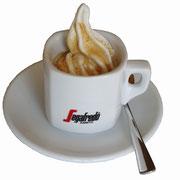 Espresso auf Softeis