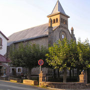 Burguete la iglesia