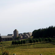 Aubrac, le village