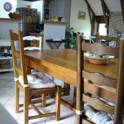 Table d'hôtes Domaine de la Rousselie