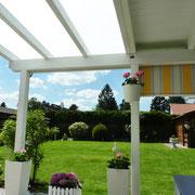 Terrassendach mit Beschattung