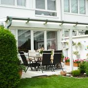 Terrassenüberdachung - luftig und leicht