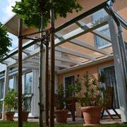 Modern und elegant - ein Terrassendach von Häusler, Oberschleißheim