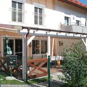 Terrassenüberdachung maßgeschneidert ...