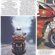 Reportage Moto Revue dela Kawa 1300 équipée du carénage King's