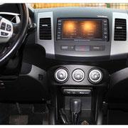 Einbau elektronisches Fahrtenbuch im Mitsubishi Outlander