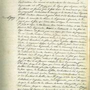 Procès verbal de délimitation de la commune en 1818 page 6