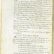 Procès verbal de délimitation de la commune en 1818 page 7