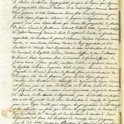 Procès verbal de délimitation de la commune en 1818 page 5