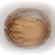 Schale aus Rotbuchenholz